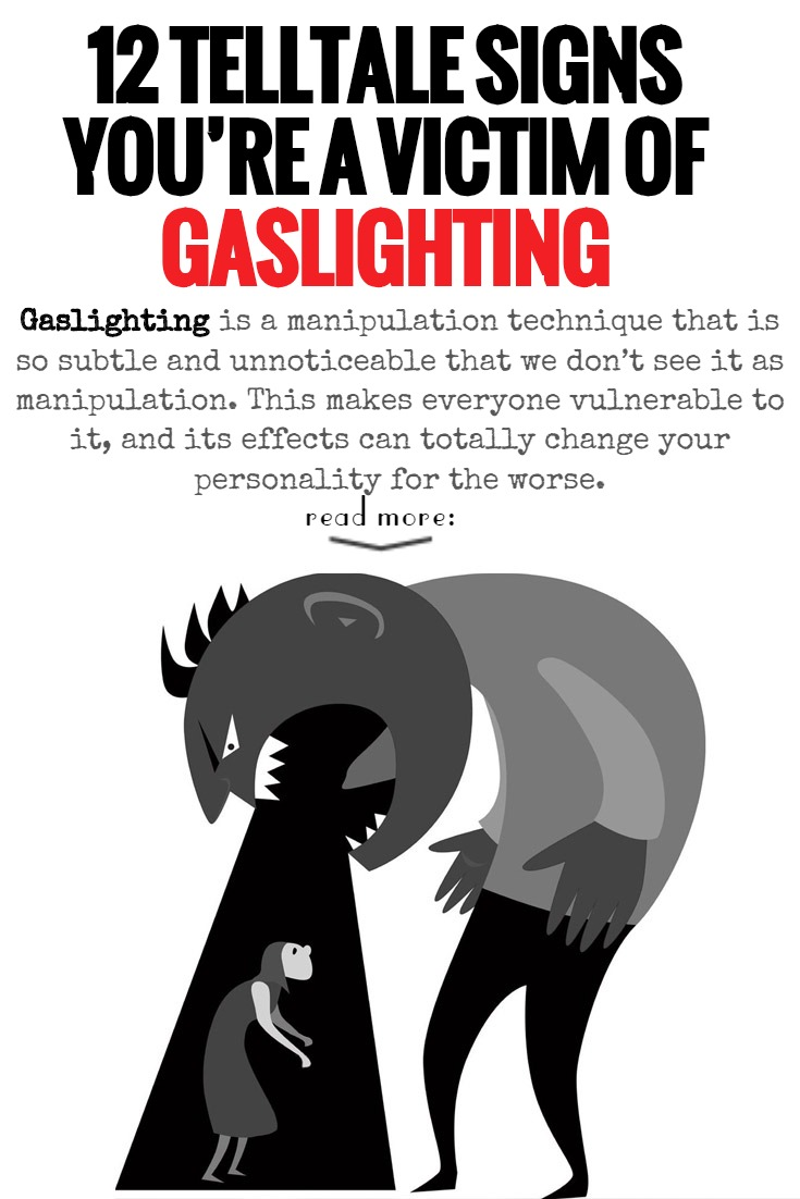 12 Telltale Signs You're A Victim Of Gaslighting - The Power Of Silence