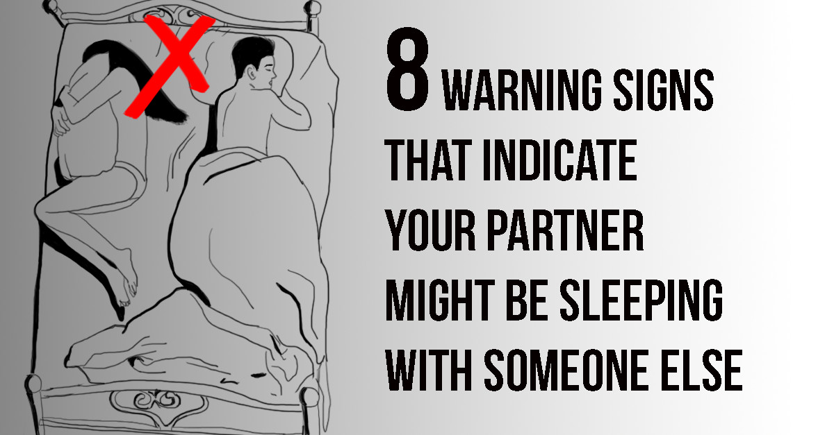 Together sleeping they signs are Avoid being