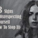disrespecting