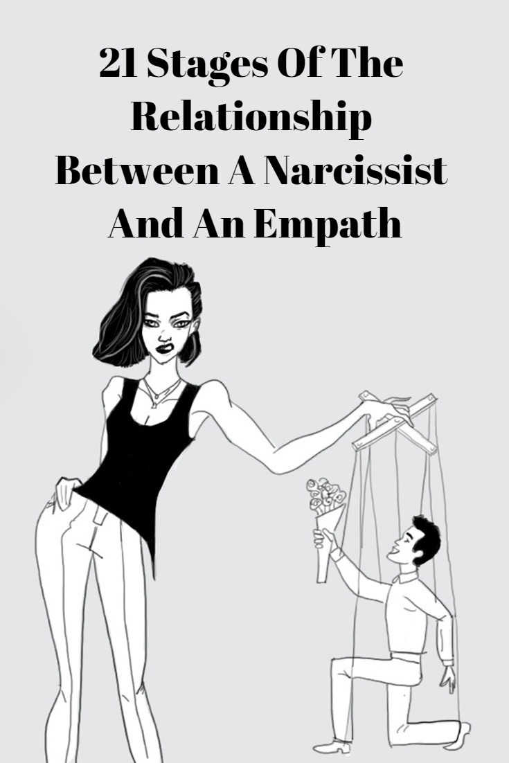 21 stages of a narcissistic relationship