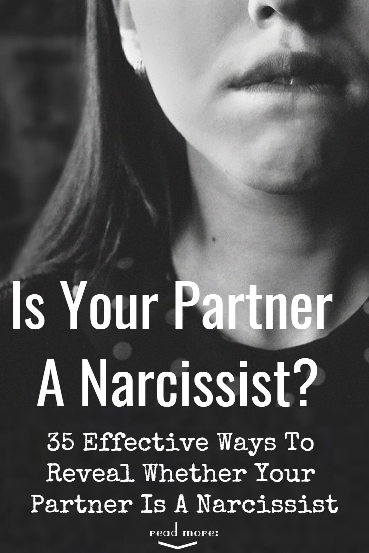 Is your partner a narcissist