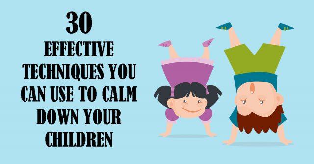 calm down kids