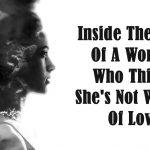 woman not good enough