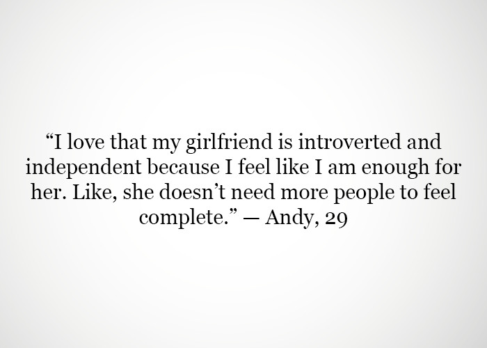 Dating an introvert woman
