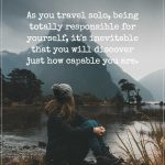 People Who Travel Alone All Share This Characteristic