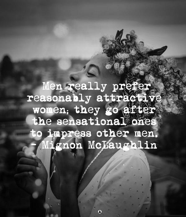 characteristics of an immature woman