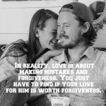 Date Someone Who Understands That Love Isn't A Fantasy Land