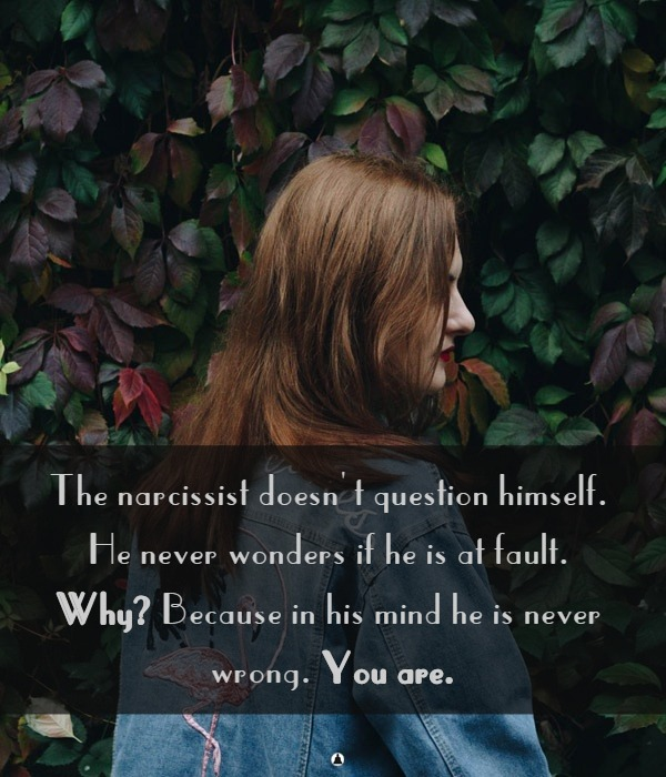 Narcissist signs and symptoms  11 Signs You're The Victim of