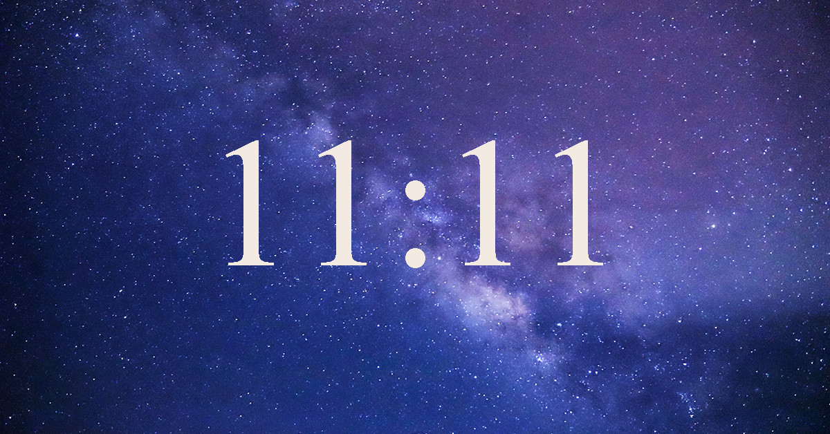 The Spiritual Meaning Behind 11:11 – Here's What It Means If