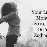 zodiac sign luckiest months