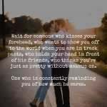 Wait For The Guy Who Makes You Feel Like You're Enough