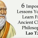 lao tzu lessons