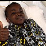 8 year old boy cancer