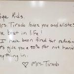 teacher gets fired