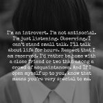love introverts