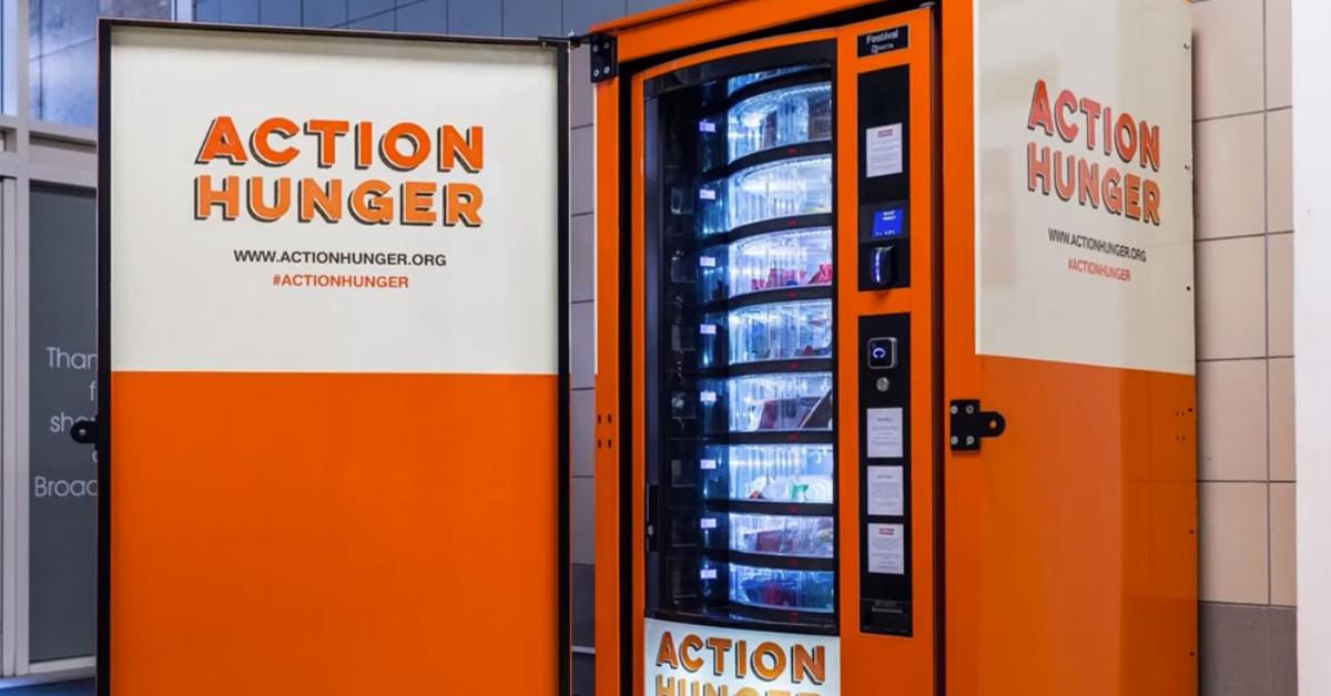 vending machines homeless