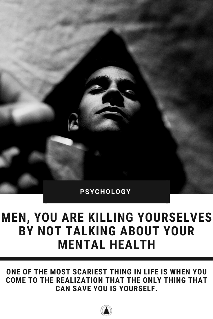 mental health not talking killing men