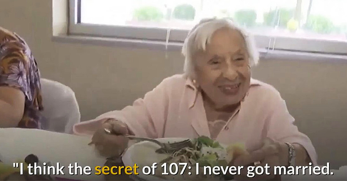 107 old woman