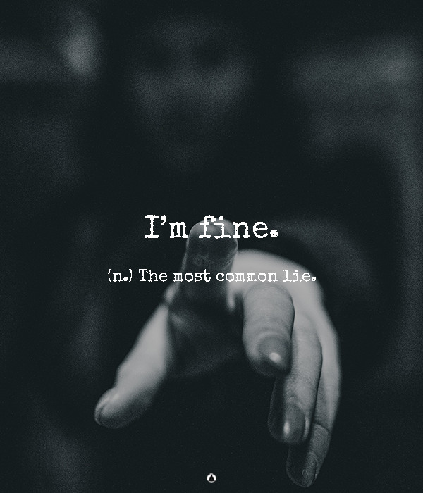 """It's Okay to Have Feelings, So Stop Saying """"I'm Fine"""""""