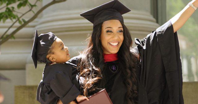 24 year old mom graduates
