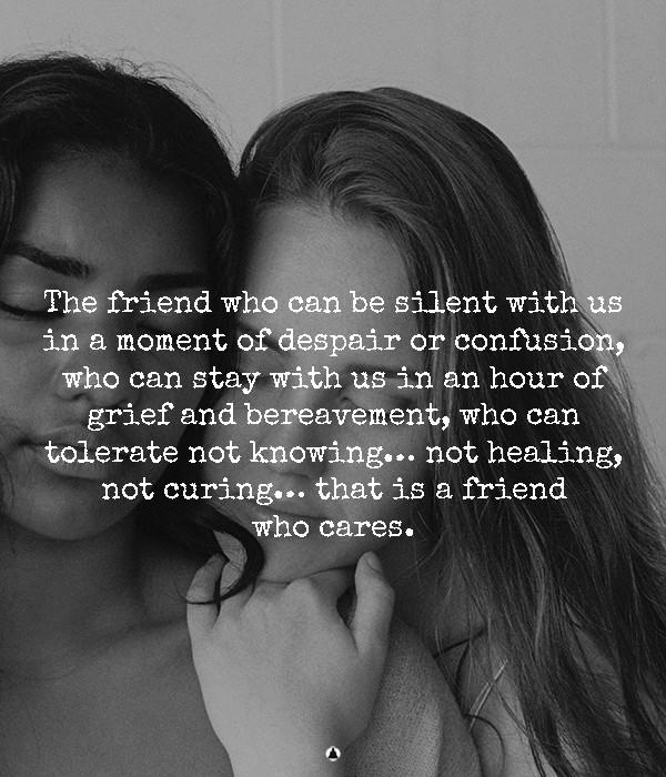True Friendship Means Making Sacrifices