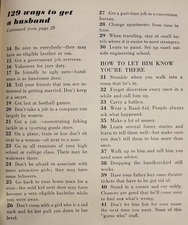 1958 Article Shows Dating Has Changed Considerably Over The Years