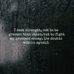Doubt Myself