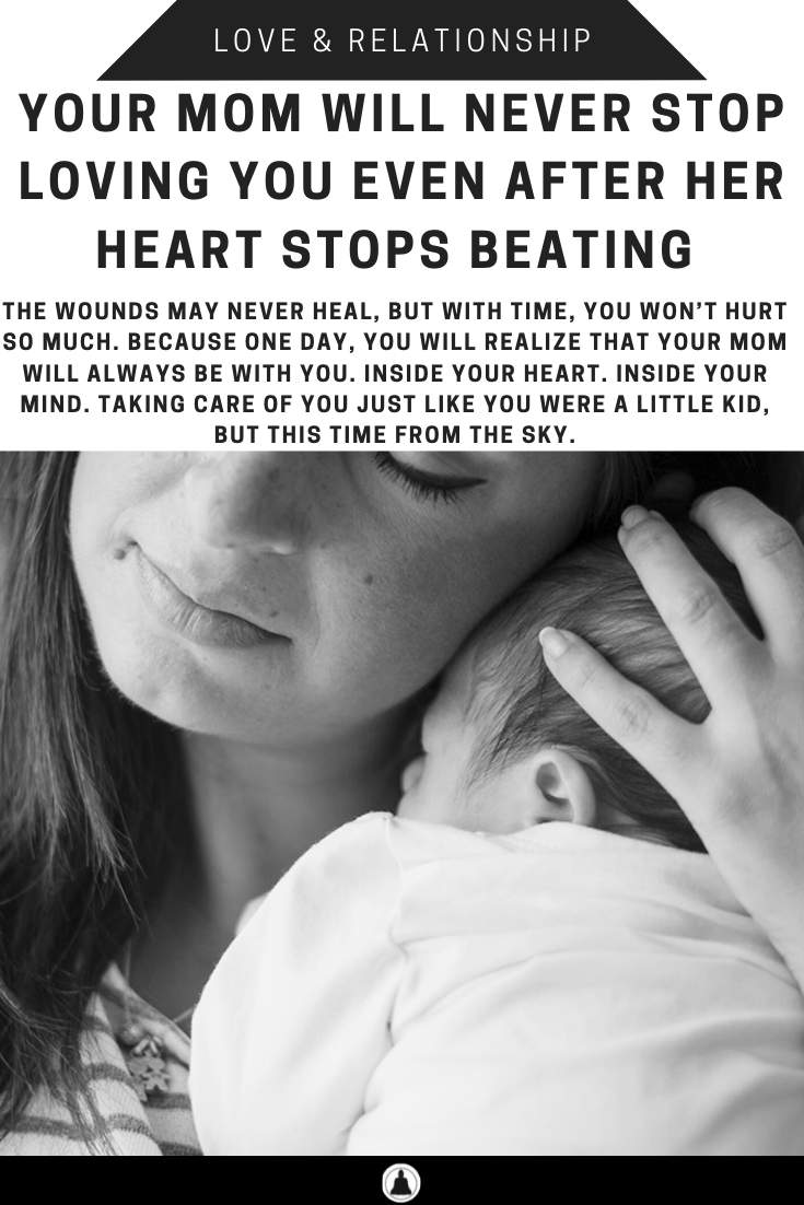 """""""Your Mom Will Never Stop Loving You Even After Her Heart Stops Beating"""" is locked Your Mom Will Never Stop Loving You Even After Her Heart Stops Beating"""