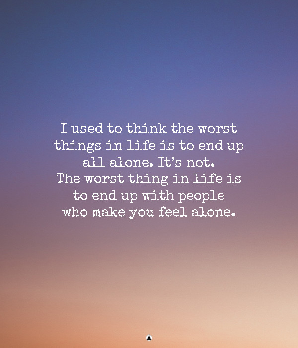 being-alone