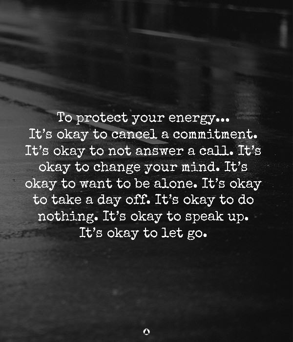 How To Be Okay