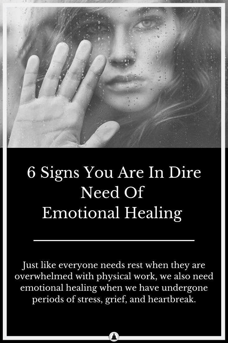 Need Emotional Healing