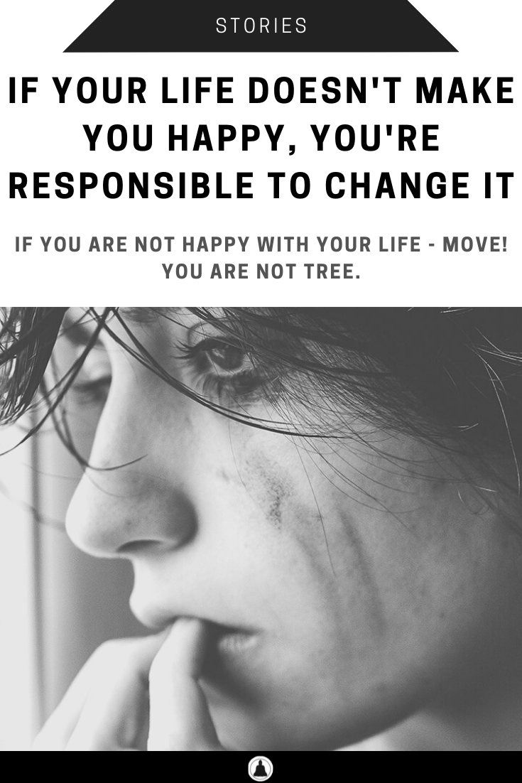 You're Responsible To Change It