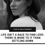 life-not-a-race