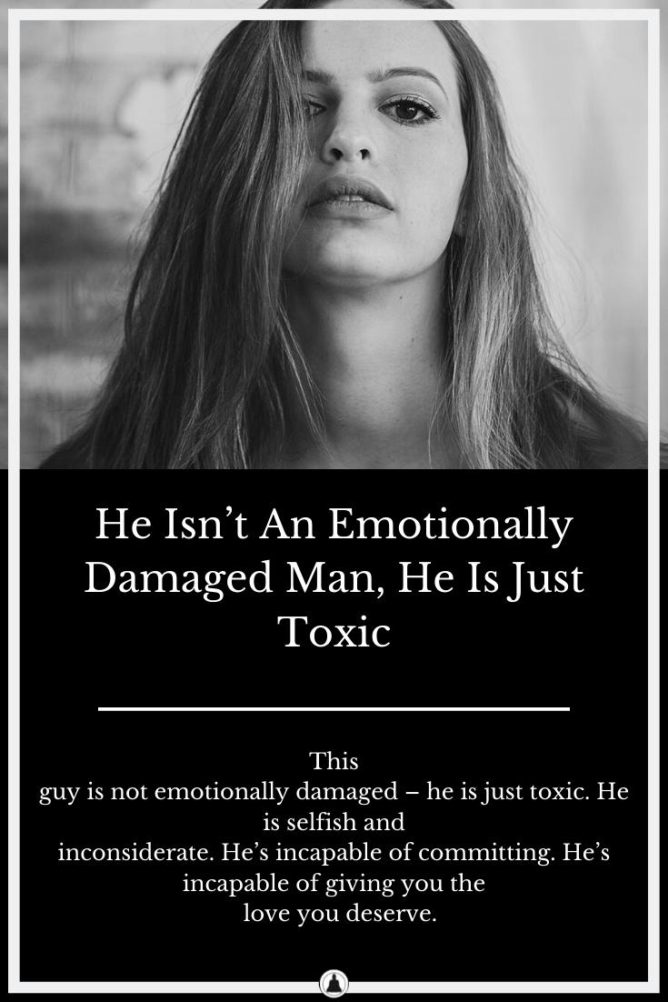 he is an asshole