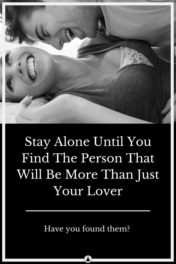 stay single until