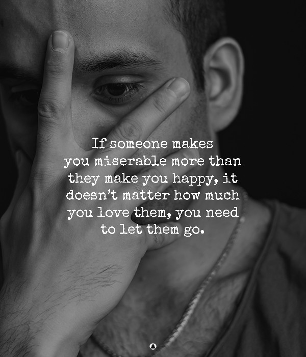 Love Isn't Supposed To Hurt You: The Right Person Will Make You Happy