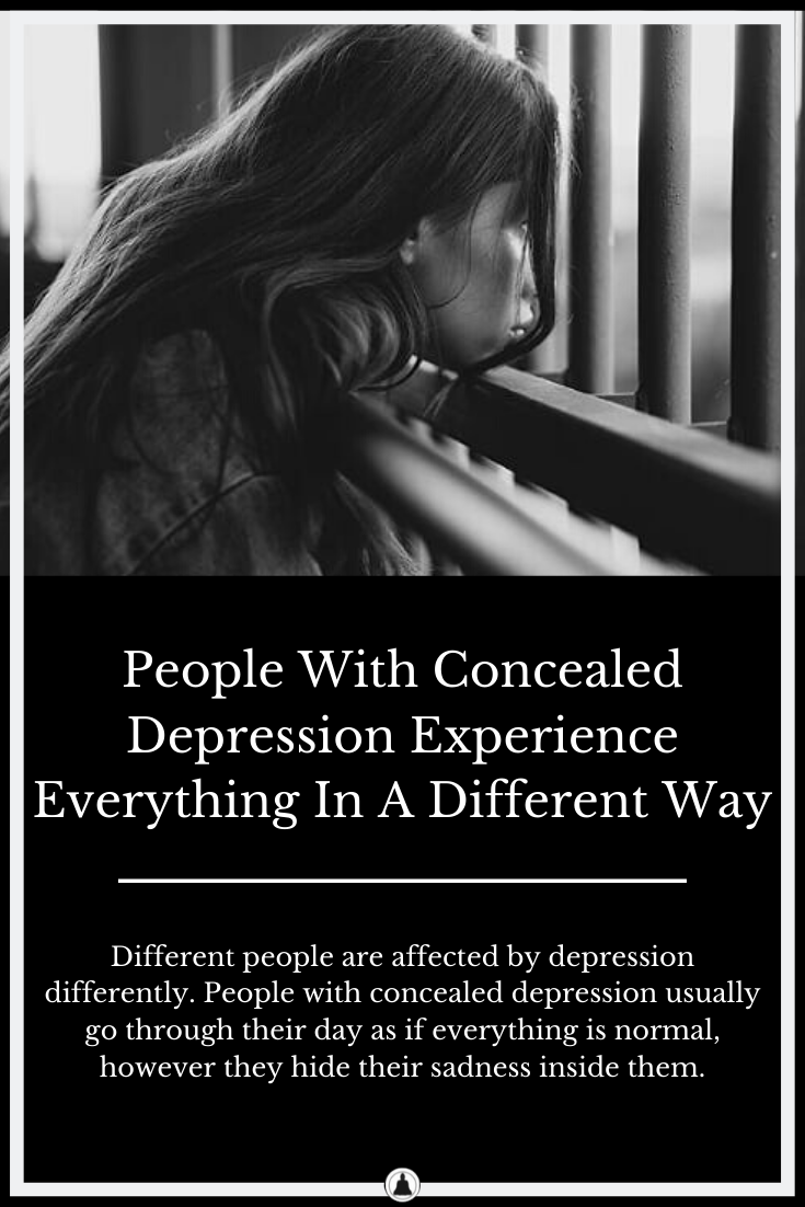 People With Concealed Depression Do Things Differently