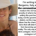Mother Quarantined In Italy Wrote A Terrifying Warning And She Went Viral