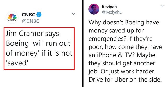 Woman Criticizes Companies Failing The Same Way Society Criticizes Poor People
