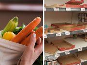 groceries corona virus market