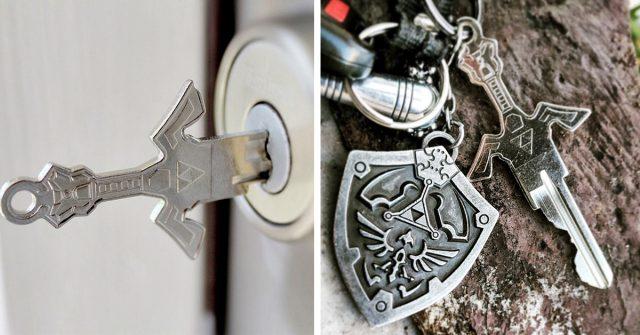 keys swords