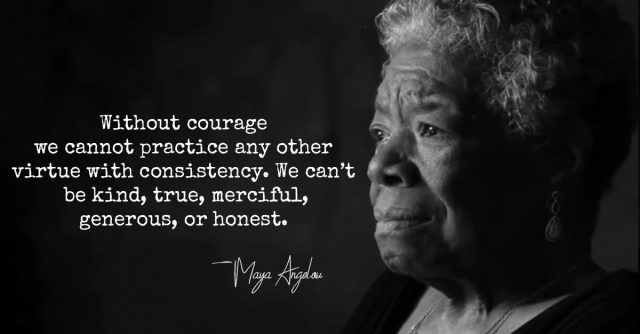 Maya Angelou: We Need Much Less Than We Think We Need