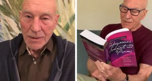 patrick stewart reading twitter shakespeare