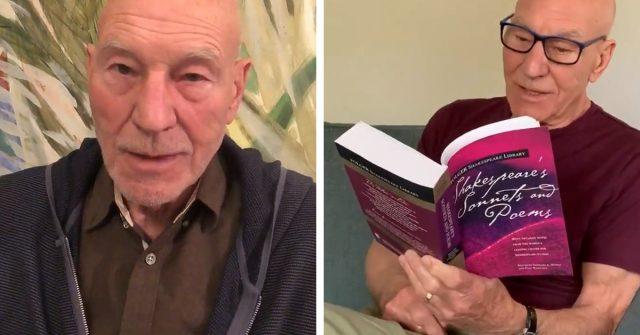 patrick stewart reading twitter shakespeare