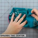 how to make a no sew mask 10