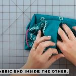 how to make a no sew mask 11