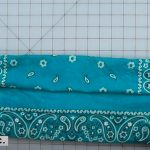 how to make a no sew mask 7