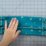 how to make a no sew mask 8