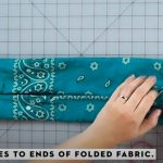 how to make a no sew mask 9
