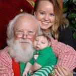 miracle baby with Santa